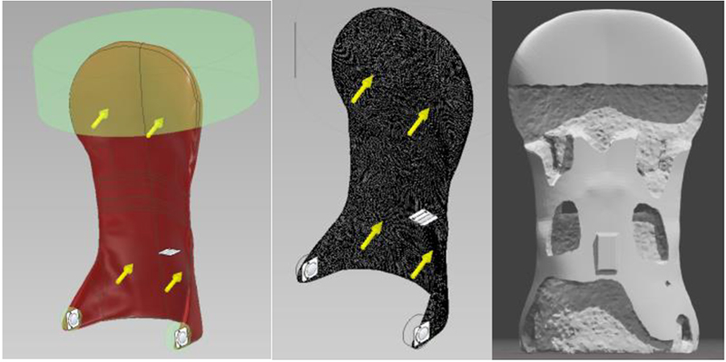 Shape optimisation of a snowboard binding highback  A case study of