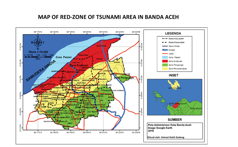The Development Of Settlement In The Tsunami Red Zone Area Of Banda Aceh City Kne Social Sciences