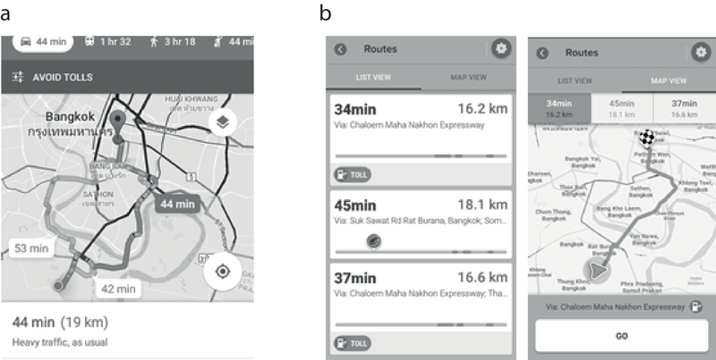 Towards Improving User Interaction with Navigation Apps: an
